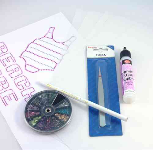 kit mini inicacion transfers strass
